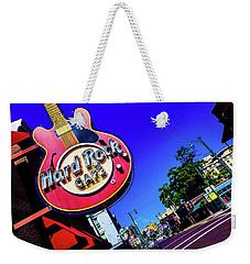 Hard Rockin On Beale Weekender Tote Bag