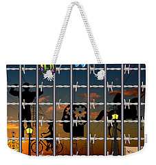 Hard-wired Weekender Tote Bag