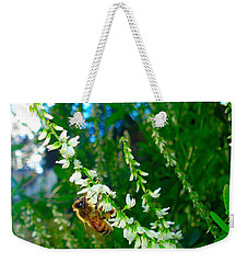 Hard Working Bee Weekender Tote Bag