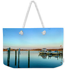 Hard Yacht Cafe Weekender Tote Bag