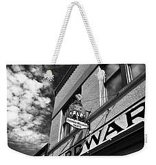 Hardware Weekender Tote Bag by David Lee Thompson