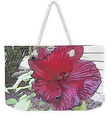 Hardy Hibiscus Weekender Tote Bag