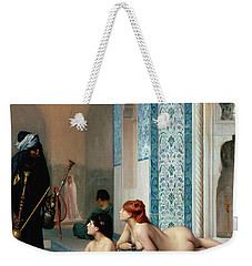 Harem Pool, Jean-leon Gerome Weekender Tote Bag