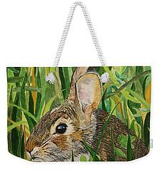 Hare's Breath Weekender Tote Bag
