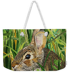 Hare's Breath Weekender Tote Bag