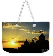 Harichavank Monastery At Sunset, Armenia Weekender Tote Bag