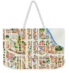 Harlem From 106-155th Streets Weekender Tote Bag