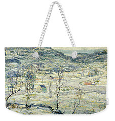 Harlem Valley, Winter Weekender Tote Bag