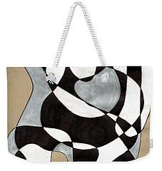 Harlequin Abtracted Weekender Tote Bag