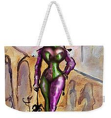 Harlequin Weekender Tote Bag