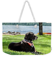 Harley At The Beach Weekender Tote Bag