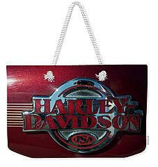 Harley Davidson 12 Weekender Tote Bag