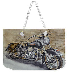 Harley Davidson Vintage 1950's Weekender Tote Bag