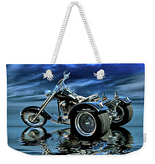 Harley Heritage Soft Tail Trike Weekender Tote Bag