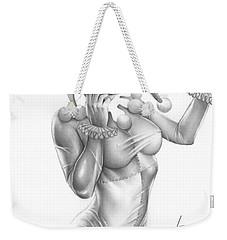 Harley Quinn Weekender Tote Bag by Pete Tapang