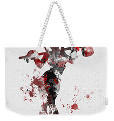 Harley Quinn Weekender Tote Bag by Rebecca Jenkins