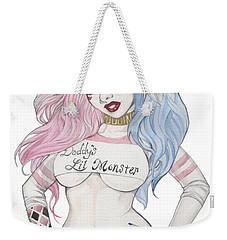 Harley Quinn Ss2 Weekender Tote Bag