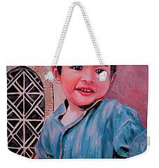 Harmain Weekender Tote Bag by Khalid Saeed