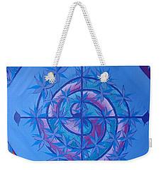 Harmonious Life Cross Weekender Tote Bag