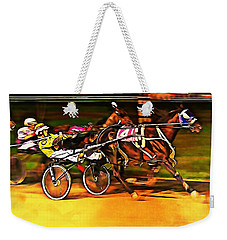 Harness Race #2 Weekender Tote Bag