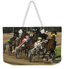 Harness Racing 9 Weekender Tote Bag