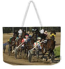 Harness Racing 9 Weekender Tote Bag