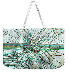 Weekender Tote Bag featuring the digital art Harnessing Energy 3 by Angelina Vick