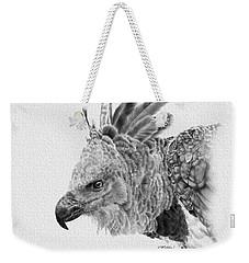 Harpy Eagle Weekender Tote Bag by Kathie Miller