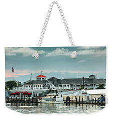 Harris Crab House Weekender Tote Bag