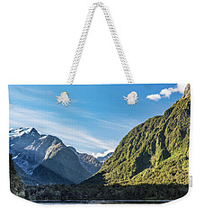Weekender Tote Bag featuring the photograph Harrison Cove Sunlight by Gary Eason