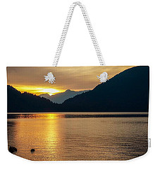 Harrison Lake, British Columbia Weekender Tote Bag