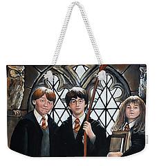 Harry Potter Weekender Tote Bag by Tom Carlton