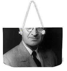 Harry S Truman - President Of The United States Of America Weekender Tote Bag by International  Images