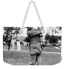 Harry Vardon - Golfer Weekender Tote Bag by International  Images