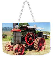 Hart Parr 1911 30 60 Tractor Weekender Tote Bag