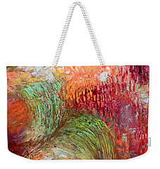 Harvest Abstract Weekender Tote Bag