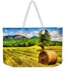 Harvest At Table Rock Weekender Tote Bag by Lynne Jenkins
