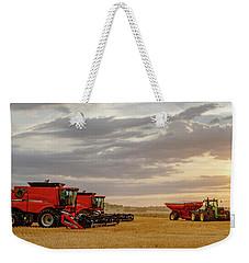 Harvest Delayed Weekender Tote Bag by Rob Graham