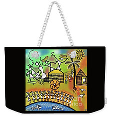 Weekender Tote Bag featuring the digital art Harvest by Latha Gokuldas Panicker