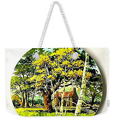 Harvest Moon Landscape Weekender Tote Bag