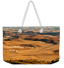 Harvest Overview Weekender Tote Bag