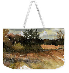Harvest Snow Weekender Tote Bag by Judith Levins
