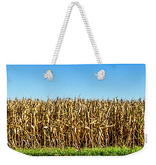 Weekender Tote Bag featuring the photograph Harvest Time by Ricky L Jones
