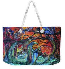 Harvesters Of The Autumnal Swamp Weekender Tote Bag by Christophe Ennis