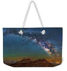 Hat Rock Milky Way Weekender Tote Bag