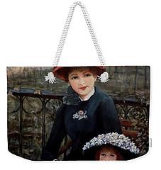 Hat Sense Weekender Tote Bag by Judy Kirouac