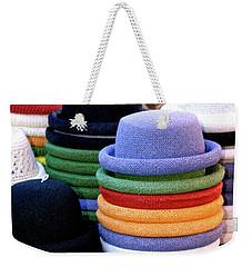 Hats, Aix En Provence Weekender Tote Bag