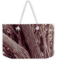 Hau Trees Weekender Tote Bag by Mukta Gupta