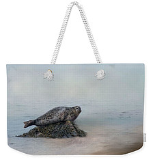 Weekender Tote Bag featuring the photograph Hauling Out by Robin-Lee Vieira