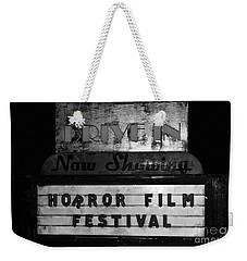 Haunted Drive In Weekender Tote Bag